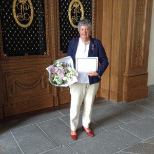FNAPTE Caroline medaille de bronze PJJ